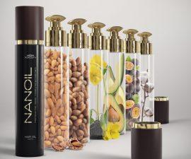 óleo rico em substâncias Nanoil